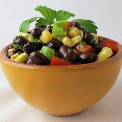 Spicy Black Bean Salad recipe