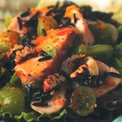 Smucker's Chicken Salad with Wild Rice, Pecans, Grapes and Orange Dressing recipe