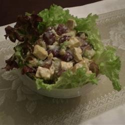 Fruited Tofu Curry Salad recipe
