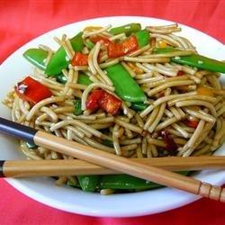 Easy Asian Pasta Salad recipe