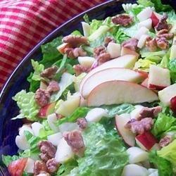 Apple, Brie, and Walnut Salad recipe
