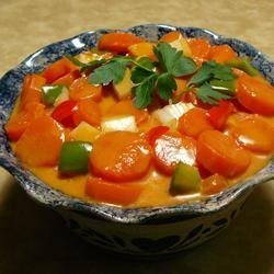 Aunt Dorothy's Marinated Carrot Salad recipe