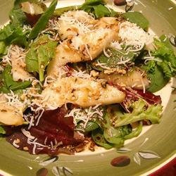 Speedy Pear and Pecan Salad recipe