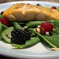 Simple Cranberry Spinach Salad recipe