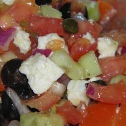Oia Greek Salad recipe