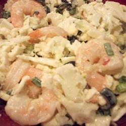 Cauliflower Shrimp Salad recipe
