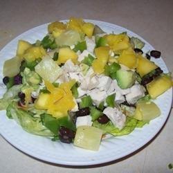 Chicken Salad in the Tropics recipe