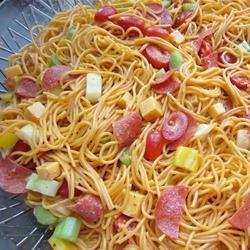 Spaghetti Salad IV recipe