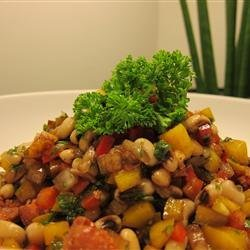 Marinated Black-Eyed Pea Salad recipe
