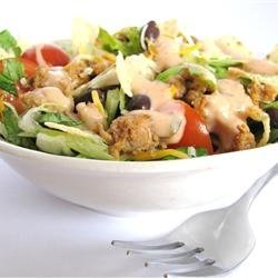 Grandma's Easy Turkey Taco Salad recipe