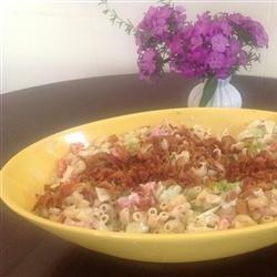 Bacon, Lettuce, and Tomato Macaroni Salad recipe
