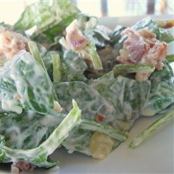 The Best Spinach Salad Ever recipe