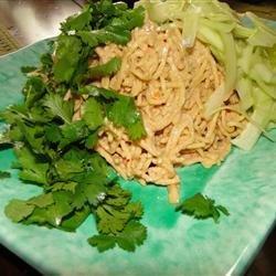 Sesame Peanut Noodle Salad recipe