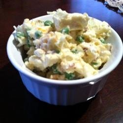 Ginny's Cauliflower and Pea Salad recipe