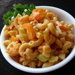 Tangy Catalina Pasta Salad recipe