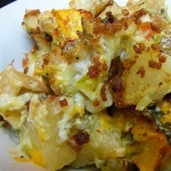 Pat's Baked Potato Salad recipe