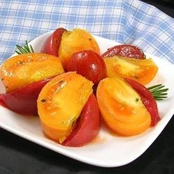 Heirloom Tomato Salad with Rosemary recipe