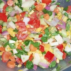 Summer Rainbow Salad recipe