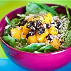 Spinach and Mango Salad recipe