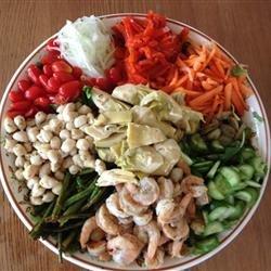 Shrimp Garden Salad recipe