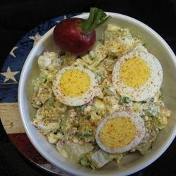 Cottage Cheese Potato Salad recipe