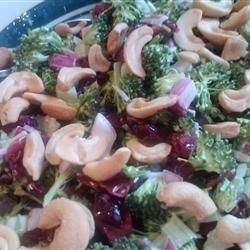 Delicious Broccoli Cranberry Salad recipe