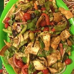 Lebanese Fattoosh recipe