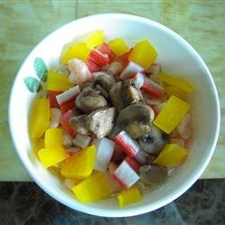 Crab and Shrimp Pasta Salad recipe