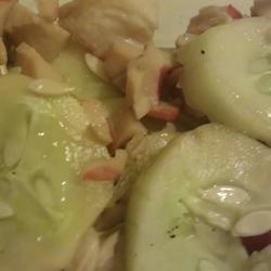 Asian Crab and Cuke Salad recipe