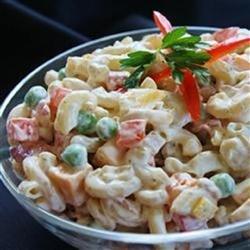 Bacon Ranch Macaroni Salad recipe