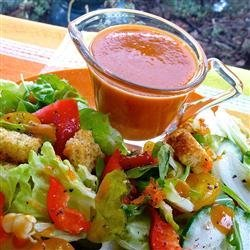 Sweet and Sour Salad Dressing recipe