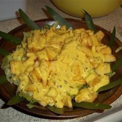 Cajun Pineapple Salad recipe