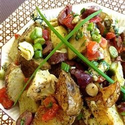 Roasted Potato Salad with Balsamic Dressing recipe