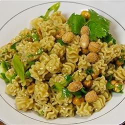 Norris' Sesame Pasta Salad recipe