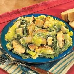 Campbell's(R) Grilled Chicken Caesar Salad recipe