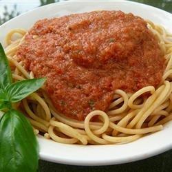Cold Spaghetti recipe