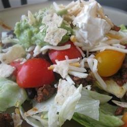 Easy Black Bean Taco Salad recipe