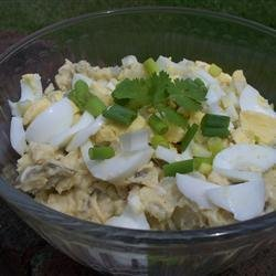 Wisconsin Cheese Curd Potato Salad recipe