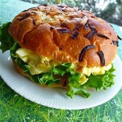Bacon Dijon Egg Salad Sandwich recipe