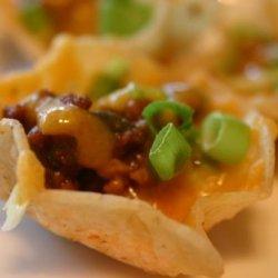 Mini Taco Nachos recipe