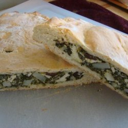 Spinach and Feta Cheese  alligator  recipe