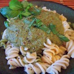 Low Fat Basil Tomato Pesto recipe
