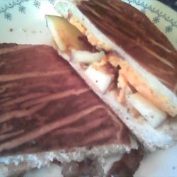 Cheddar Bacon and Apple Panini recipe