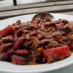 Lisa's 2-3 Chili recipe