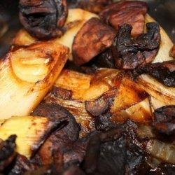 Vegetarian Albanian Leek Casserole (Tave Me Presh) recipe