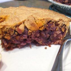 Meat and Cabbage Pie recipe