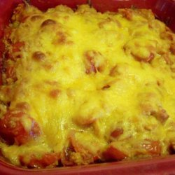 Cheesy Tomato Casserole recipe