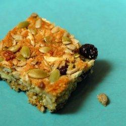 Gluten Free and Vegan Breakfast Bars recipe