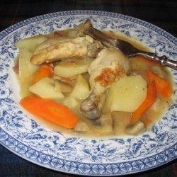 Chicken Casserole or Coq Au Vin recipe