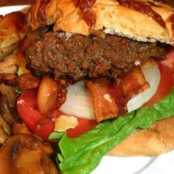 Grilled Bacon Burgers recipe